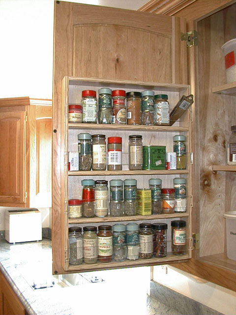 pull out spice racks for cabinets 2